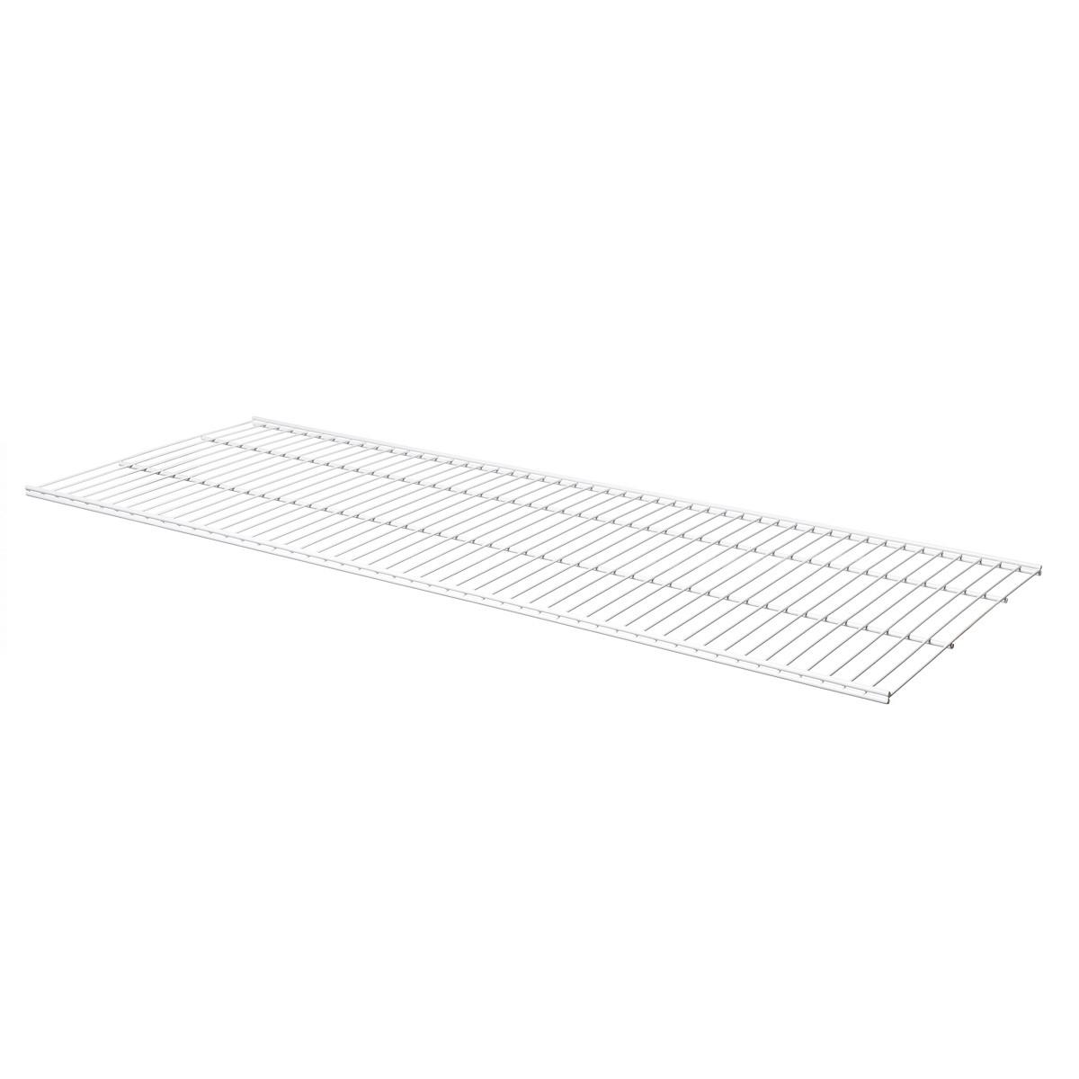 Полка для гардеробной системы Larvij белая 1203×406мм  L99124WH