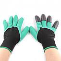 Садовые перчатки с когтями Garden UTM Gloves, фото 3