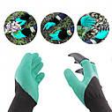 Садовые перчатки с когтями Garden UTM Gloves, фото 4