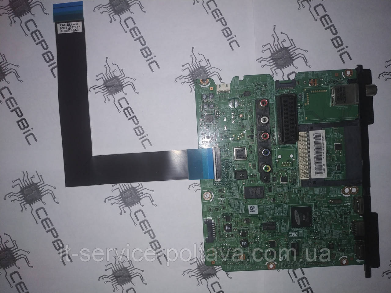 MainBoard (материнская (основная) плата) BN41-01955A (BN94-06332M) для LED телевизора Samsung  UE32F4020AW