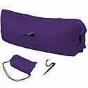 Надувной матрас-гамак Ламзак Original 2,2м Purple, фото 2