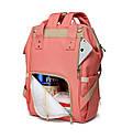 Сумка-рюкзак для Мамы Baby Tree Розовый, фото 5