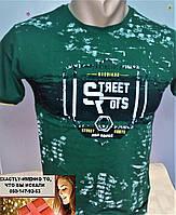 Футболка для подростка зеленая 9-10, 11-12, лет