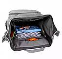 Сумка-рюкзак для мам UTM Серый, фото 2