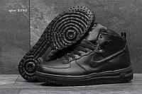 Зимние кроссовки Nike Air Force черные 3590