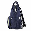 Сумка-рюкзак для мам UTM Синий, фото 2