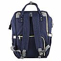 Сумка-рюкзак для мам UTM Синий, фото 3
