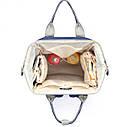 Сумка-рюкзак для мам UTM Синий, фото 4