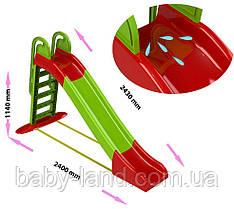"""Гірка спуск дитяча пластикова велика для будинку і вулиці """"Doloni"""" 014550/1"""