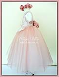 """Пишна бальна сукня для дівчинки """"Метелик"""" - РУЧНА РОБОТА! 134 р., фото 10"""
