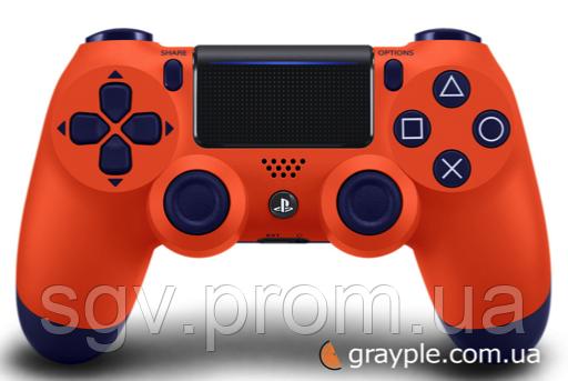 Беспроводной геймпад PlayStation Dualshock V2 Bluetooth PS4 Sunset orange