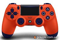Беспроводной геймпад PlayStation Dualshock V2 Bluetooth PS4 Sunset orange, фото 1