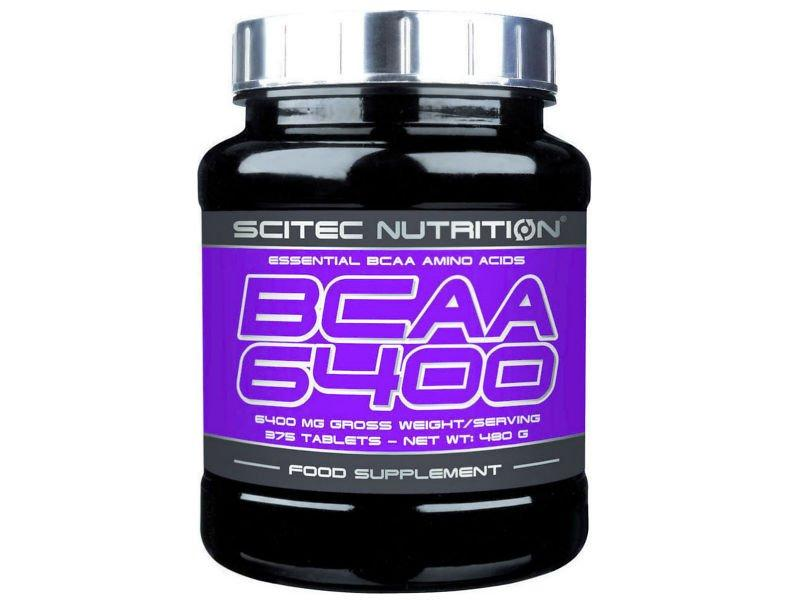 Аминокислоты БЦАА  Scitec BCAA 6400 375 tabl