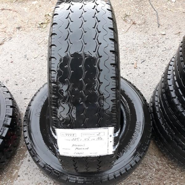 Бусовские шины б.у. / резина бу 225.75.r16с Maxxis Trucmaxx Максис