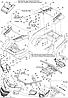 Оригинальное пластиковое крепления заднего фонаря (стопа) BRP для квадроцикла Can Am Outlander 800 650 500 400, фото 2