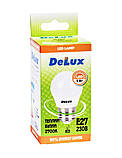 Лампа светодиодная DELUX BL50P 5 Вт 2700K 220В E27 теплый белый, фото 3