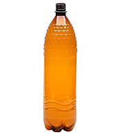 ПЕТ Бутылка коричневая газ 1.5 л. Ø 28 мм.