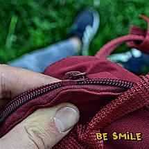 Рюкзак Fjallraven Kanken Mini 7L \ Канкен Мини 7л Бордовый Ox Red (городской) Top replic, фото 2