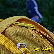 Рюкзак Fjallraven Kanken Mini 7L \ Канкен Мини 7л Желтый Warm Yellow (городской) Top replic, фото 2