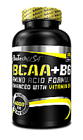 Аминокислоты БЦАА BIOTECH BCAA+B6 340 tabl
