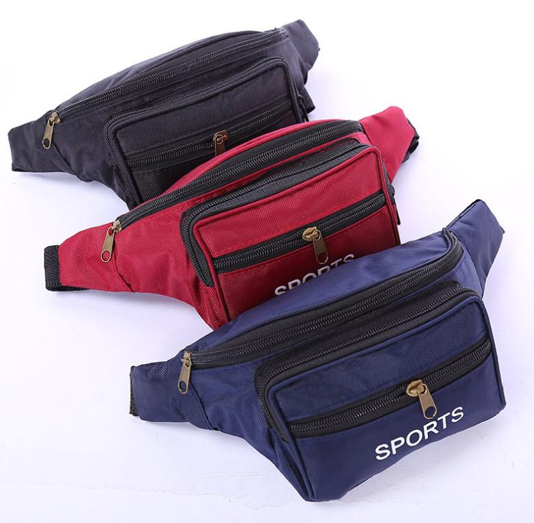 Стильная поясная унисекс сумка бананка Sport