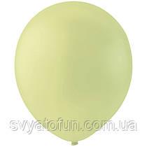 """Латексные шарики 12"""" декоратор Apple Green, зеленое яблоко, Мексика, (20 шт/уп)"""
