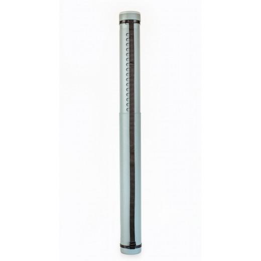 """Тубус """"Santi"""" розсувний, діаметр 8,5 см, довжина 65-110 см. колір сірий"""