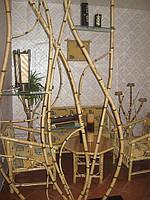 Перегородки из гнутого бамбука