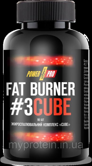 Power ProДля снижения весаFat Burner #3 Cube90 шт