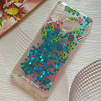 Чехол для Huawei P smart plus Glitter Ананасики