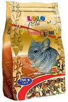 LoLo Pets PREMIUM for chinchilla Полнорационный корм для шиншилл