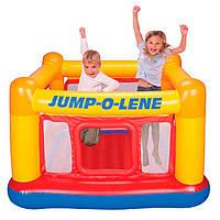 Батут надувной Intex Jump-o-Lene Playhouse 48260. Для отдыха на пляже