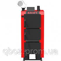 Твердотопливный котел Крафт (Kraft) S 25 кВт (с ручным управлением), фото 3