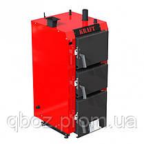 Твердотопливный котел Крафт (Kraft) S 25 кВт (с ручным управлением), фото 2