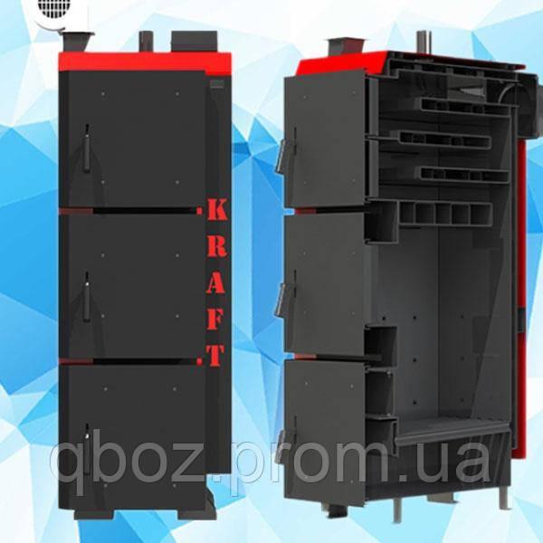 Твердотопливный котел Крафт (Kraft) L 20 кВт (автоматика)