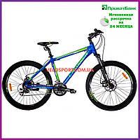 Горный велосипед Crosser Count 29 дюймов синий