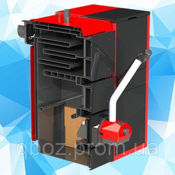 Пеллетный котел Kraft серия F 20 кВт c горелкой Oxi