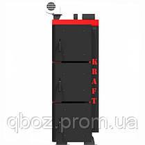 Пеллетный котел Kraft серия F 20 кВт c горелкой Oxi, фото 3