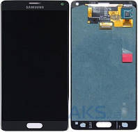 Дисплей (экраны) для телефона Samsung Galaxy Note 4 N910H + Touchscreen Original Black