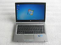 14' ноутбук HP EliteBook 8470P i5-3320M 2.6 GHz 4 GB 320GB АКБ 3ч#791