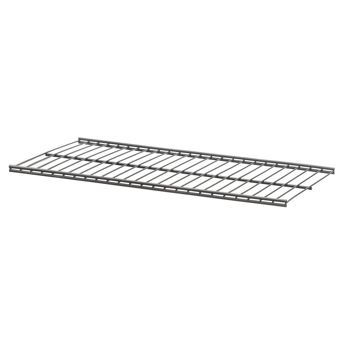 Полка для гардеробной системы  Larvij  серая  603x306мм L9963GA