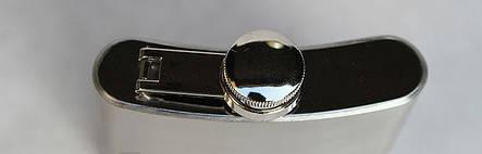 Фляга металлическая чистая 180 мл, фото 2
