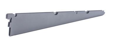 Кронштейн для полок ГС  Larvij серый 434 мм L9240GA