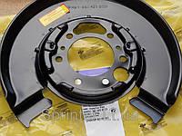 Защита колодок ручника Sprinter/LT 96-06 (однокатк.) R