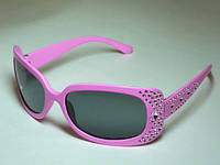 Очки солнцезащитные детские  розовая оправа 32_2_4a2