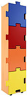 Пенал книжный закрытый «Пазлы» — 455х300х1730 мм, фото 1
