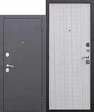 Входная дверь Гарда 60мм муар/ венге/ дуб сонома