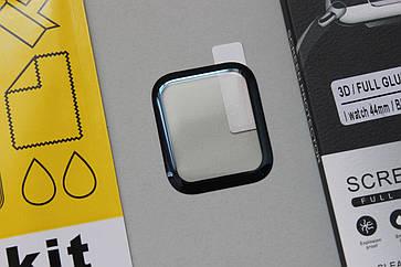 Защитное стекло 3D ( Полная проклейка ) для Apple Watch Series 4 44mm