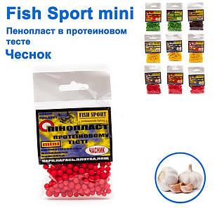 Пенопласт в протеиновом тесте Fish Sport Чеснок