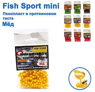 Пенопласт в протеиновом тесте Fish Sport Мед